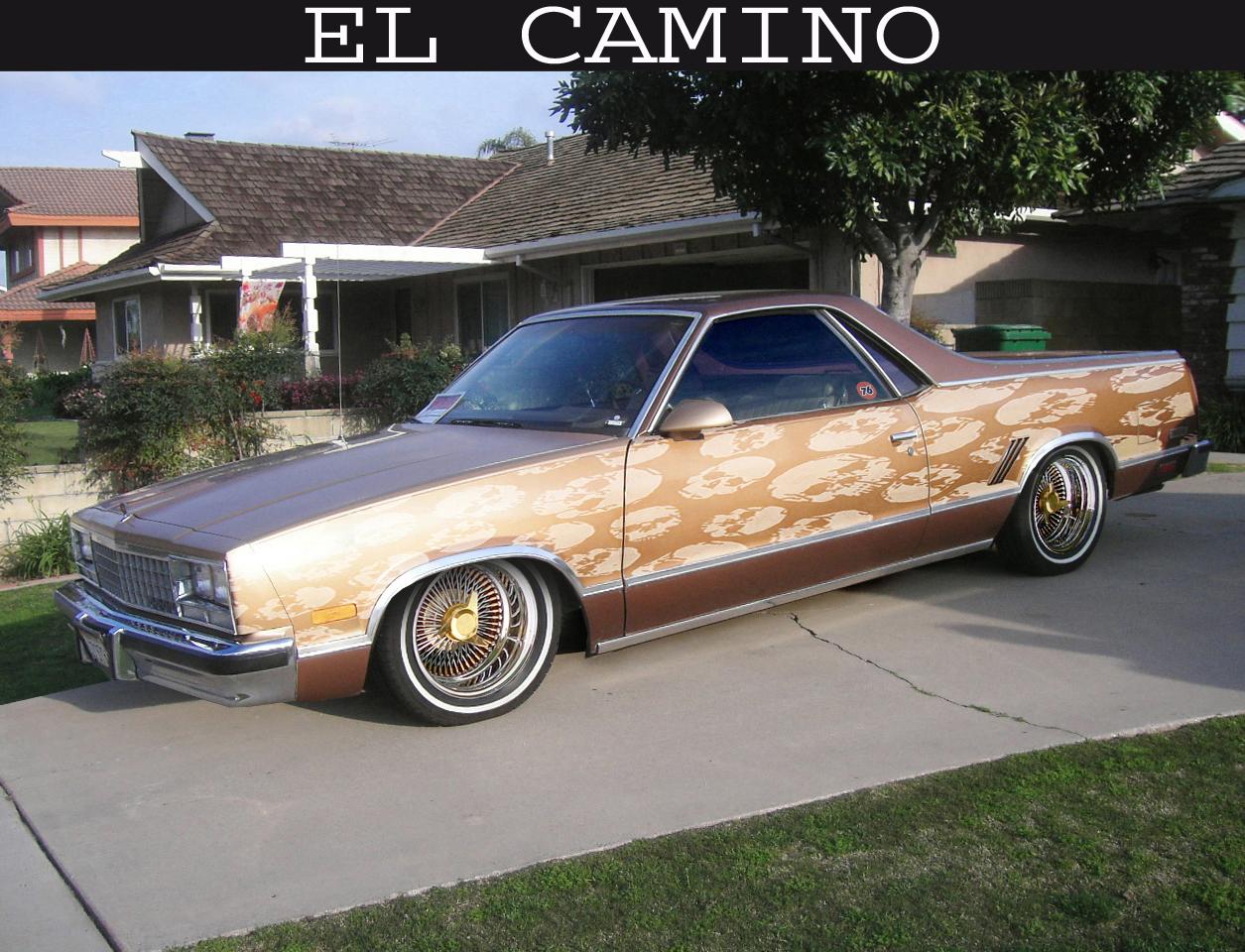camino : Chevy El Camino Lowrideron 1979 Chevy El Camino Engine