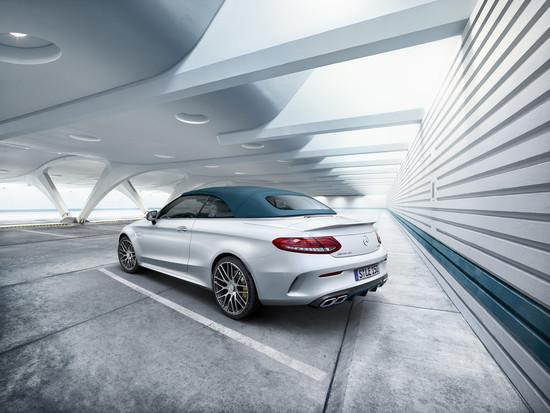 """Luxus + Supersportwagen - Mercedes-AMG C 63 Cabriolet als """"Ocean Blue Edition"""""""