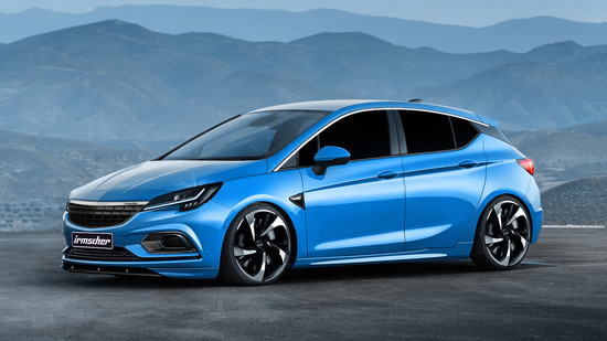 Auto - Irmscher-Power für den Opel Astra