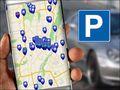 Auto - Mit der App auf Parkplatzsuche