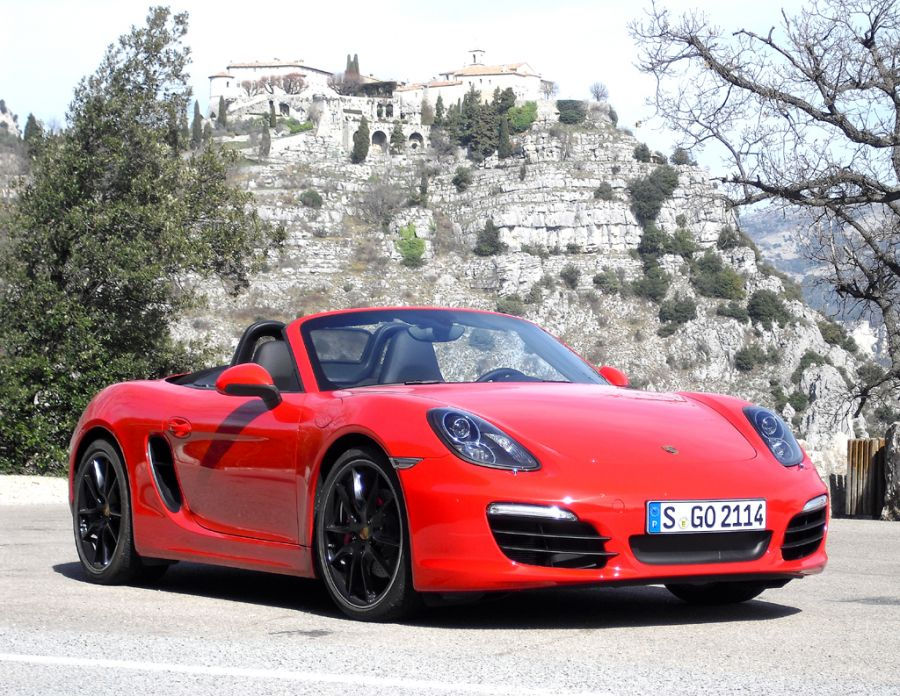porsche hat die dritte boxster generation am start. Black Bedroom Furniture Sets. Home Design Ideas