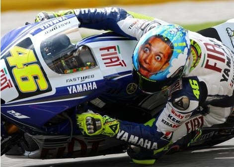 Helm a la Valentino Rossi - pagenstecher.de - Deine Automeile im Netz