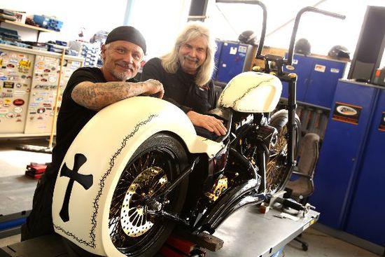 Motorrad - Eine Harley auf himmlischer Mission