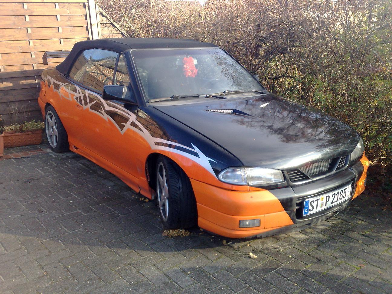 Biete: Astra F Cabrio 2.0i