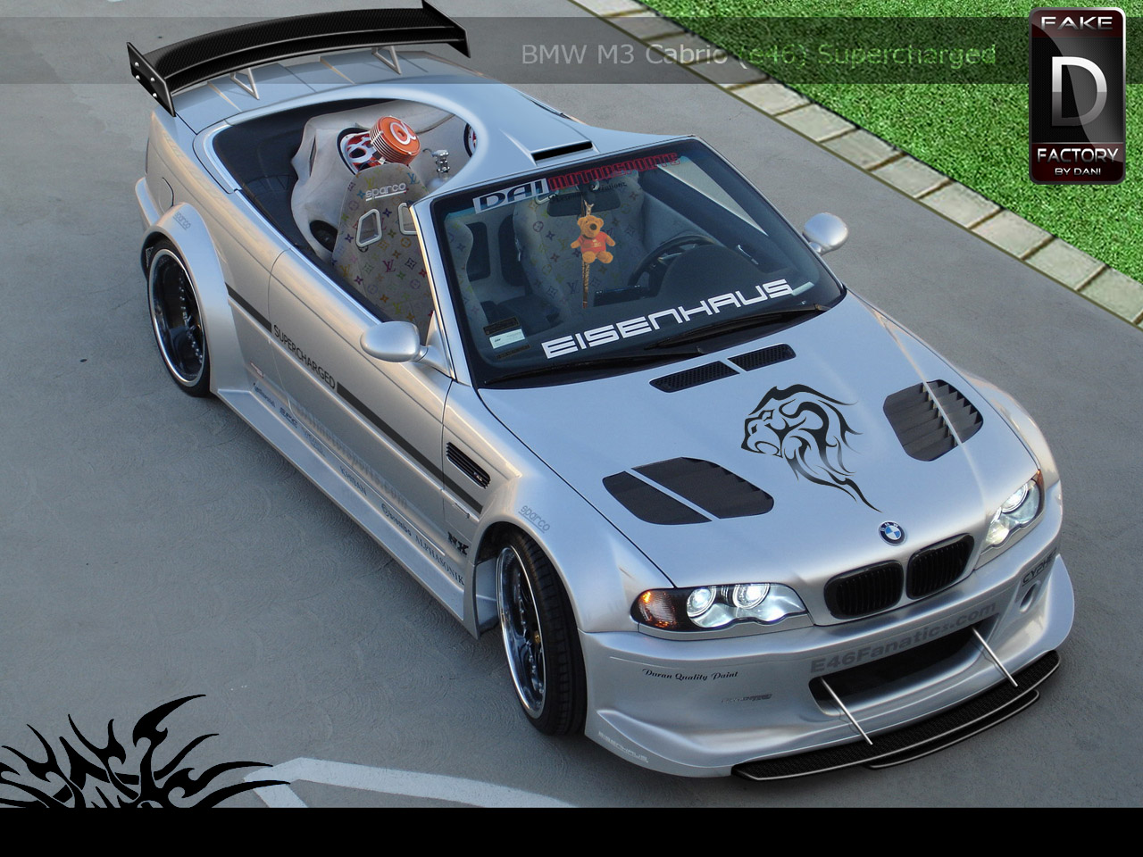 BMW M3 e46 Cabrio Quicky by
